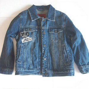 Zara Boys Jean Jacket Denim 6/7 Skhuaban